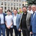 Керівництво міста та області відвідали «фестиваль морозива»