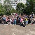 У Житомирі для маленьких мешканців мікрорайону вулиці Шевченка сьогодні організували свято