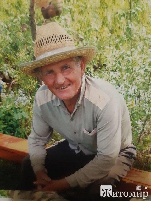У Коростені зник 83-річний чоловік. ФОТО