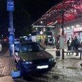 У Житомирі Toyota в'їхала у зупинку громадського транспорту та збила чоловіка. ФОТО