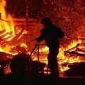 У Житомирі горіла баня