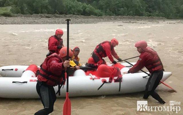 Знайшли тіло хлопчика, якого понесло течією річки на Прикарпатті. ФОТО