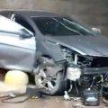 ДТП у Коростені: в автівці частково відірвало передню частину. ВІДЕО