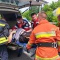 Рятувальники розповіли, як на дорозі в Станишівці деблокували двох водіїв з понівечених автомобілів. ФОТО
