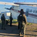 Неподалік Бердичева прикордонники затримали літак, який незаконно залетів з Румунії. ФОТО