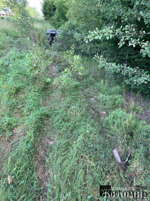 На трасі в Житомирській області в ДТП загинув громадянин Німеччини. ФОТО