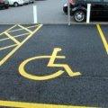 За паркування на місцях для людей з інвалідністю будуть штрафи від однієї тисячі