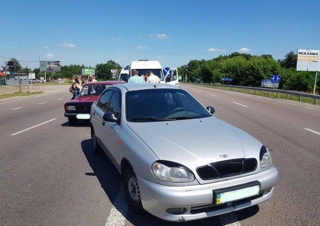 На Житомирщині сталася ДТП за участі чотирьох автомобілів. ФОТО