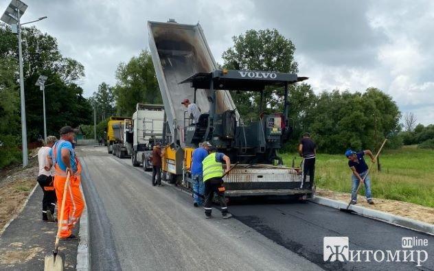 Капітальний ремонт ділянки дороги Романів – Лісна Рудня – Межирічка