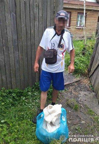 На Житомирщині в 5 жителів вилучили нарковмісні речовини. ФОТО