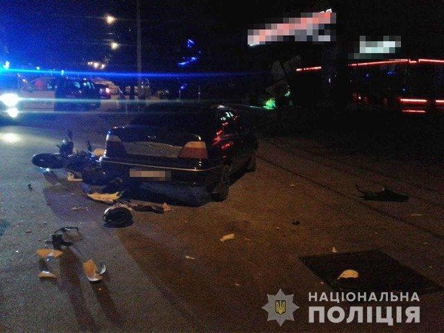 У Бердичеві 17-річний мотоцикліст травмувався внаслідок ДТП. ФОТО