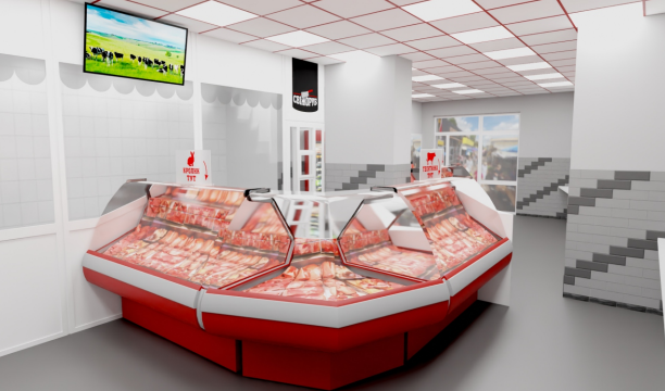 3 серпня в Житомирі відкривається новий м'ясний магазин  «Свіжоруб»