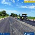 Шляховики ремонтують майже 30 км дороги Житомир-Чернівці. ФОТО