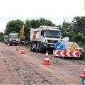 У Корнині розпочато ремонт автодороги: водії, будьте уважні під час руху!