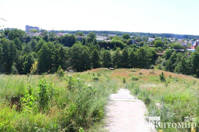 У Житомирі може з'явитися новий парк. ФОТО
