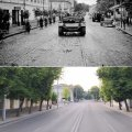 Раритетне фото вулиці Великої Бердичівської (1941 та 2021)