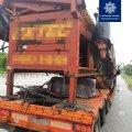 На Житомирщині виявили вантажівку, яка перевозила нелегальну техніку. ФОТО