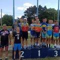Спортсмени Житомирщини стали призерами чемпіонату України з велоспорту