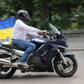 """""""Мотопробіг єдності"""" завітав до Житомира. ФОТО"""