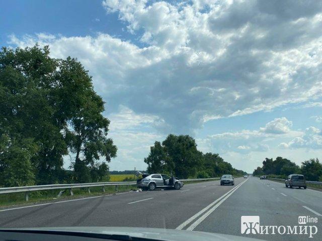 Аварія біля Житомира. ФОТО