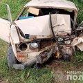 На Житомирщині 16-річний водій потрапив до реанімації через зіткнення з деревом. ФОТО