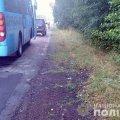 На Житомирщині автобус в'їхав у спини двом велосипедистам. ФОТО