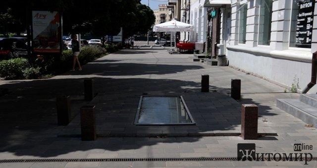 На провалля в центрі Житомира знову хочуть виділити гроші - 260 тис. грн