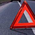 ДТП у Бердичеві: вантажний мікроавтобус врізався в електроопору