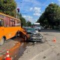 Серйозна аварія на Східній у Житомирі. ФОТО