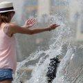 На тривалі серпневі вихідні діапазон температури в Україні від +17 °С на заході до +30 °С на півдні