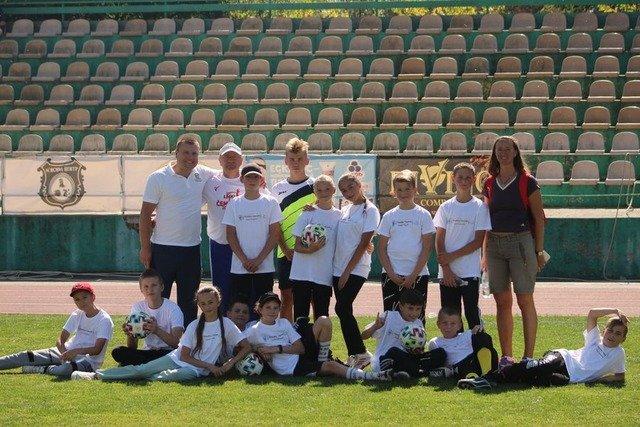 У Бердичеві відбулися «Відкриті уроки футболу»