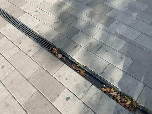 Скільки десятиліть треба житомирським комунальникам, щоб замінити поруйновані та вкрадені каналізаційні решітки на тротуарі по вулиці Київській?