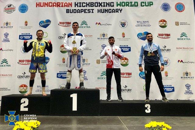 Офіцер СБУ з Житомирщини став срібним фіналістом Кубку світу з кікбоксингу WAKO