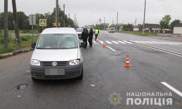 У Бердичівському районі Volkswagen збив 46-річну житомирянку. ФОТО