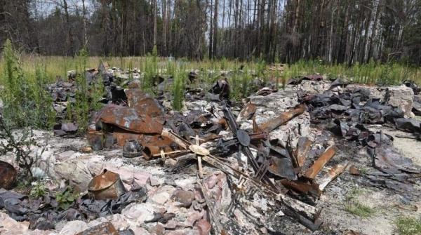 Неймовірна містика на Овруччині: на сільському цвинтарі згоріли всі могили, крім однієї – фундатора місцевої церкви
