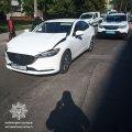 У Житомирі водій Mazda наїхав на пішохода. ФОТО