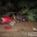 На Коростенщині авто загорілося на ходу: водій та пасажир госпіталізовані з опіками. ФОТО