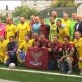 У Житомирі з рахунком 4:1 на користь команди журналістів завершився товариський матч з військовими. ВІДЕО