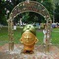 """Пам'ятник """"Пані картопельці"""" в Овручі обійшовся місцевій владі у 10 тис. грн"""