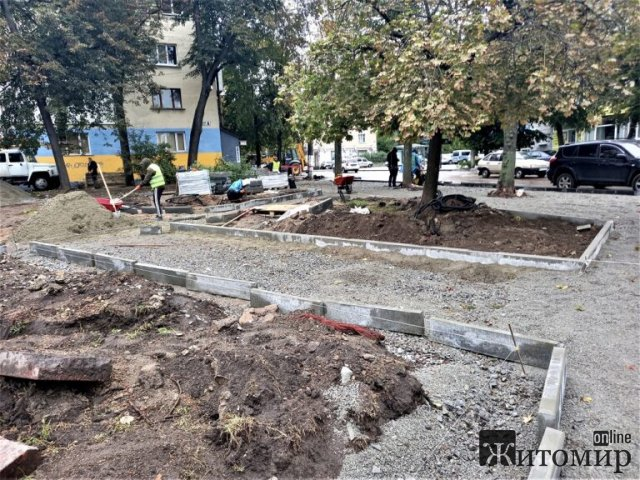 У сквері на розі вулиць Театральної та Великої Бердичівської в Житомирі встановлять додекаедр