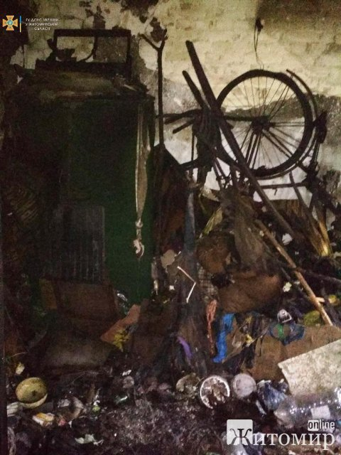 У Житомирському районі горів дім: рятувальники виявили тіло чоловіка. ФОТО