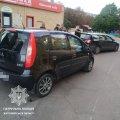На Вітрука в Житомирі стукнулись Mitsubishi та Volkswagen: виявилось, що один з водіїв посвідчення в МВС не отримував. ФОТО