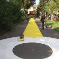 Біля скверу Лятошинського у Житомирі почали створювати дитячий простір
