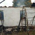 У селі біля Житомира горів будинок: рятувальники знайшли тіло обгорілого господаря. ФОТО
