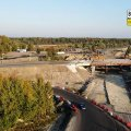 Будівництво транспортної розв'язки поблизу Бердичева. ФОТО