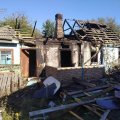 У селі на Житомирщині під час гасіння пожежі 30-річний чоловік отримав опіки. ФОТО