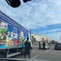 На Чуднівській у Житомирі ДТП: вантажівка зіштовхнулася з авто служби охорони. ФОТО